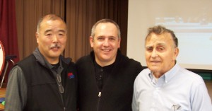 Sensei Terence with Noboru Saito and John Anderson