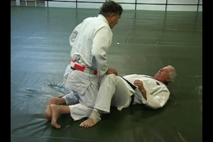 John Anderson on the mat at 80 years of age!