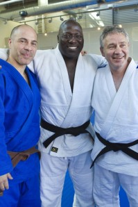 Three Leaders in finding synergy between Judo and BJJ: Rafael Morales, Rhadi Ferguson, and Kevin McNeely
