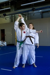 Ju No Kata with Martin and Michelle Veloso