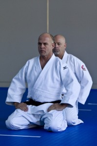 William Brownlowe and Lou Fatizzo get serious about Kime no Kata