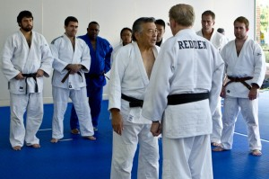 Nage No Kata Clinic begins with instruction by Edwin Takemori