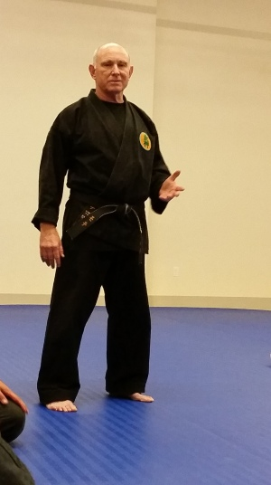 Sensei Moti Nativ teaches Warrior Awareness
