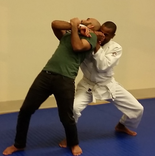 You don't need a gi to practice self defense