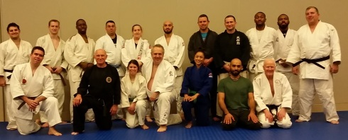 Judoka, Jujitsuka, Karateka, Muay Thai fighters, and Bujinkan Taijutsu practioners all practiced Judo together