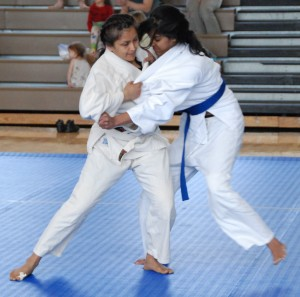 Sprout Mittal and Janell Jagdhane (DC Judo)