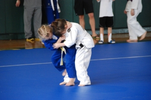 And BJJ starts standing too