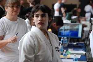 Ambar Graciani (Tech Judo) came from New jersey to compete