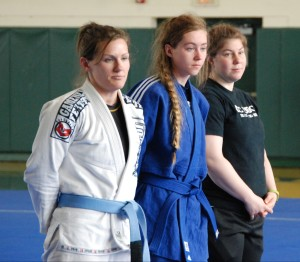 These women went the distance (Gabby Byrne Yamasaki, Carson Purcell Passport, Leah Fisher DC Judo)