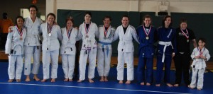 Some of the BJJ competitors