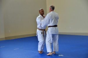 The beginning of Nage No Kata (Rahmon Burton and Wayne Lifshitz from NIH)