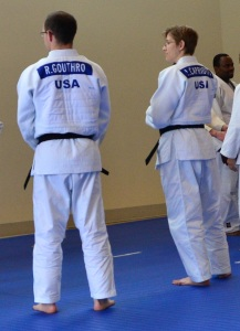 Rob Gouthro and Lisa Capriotti returned from the IJF World Kata Championship in Amsterdam where they represented the US. They drove back to South Carolina after the event!